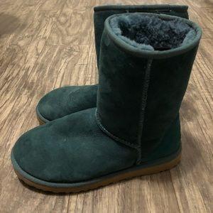 Teal Short Ugg Boots